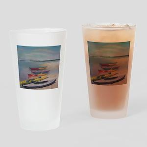 KAYAKING TRIP Drinking Glass