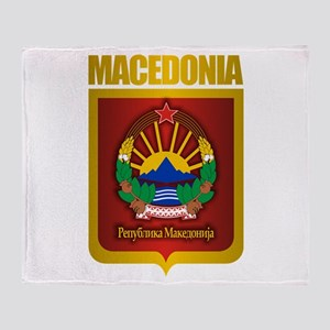 """Macedonian Gold"" Throw Blanket"
