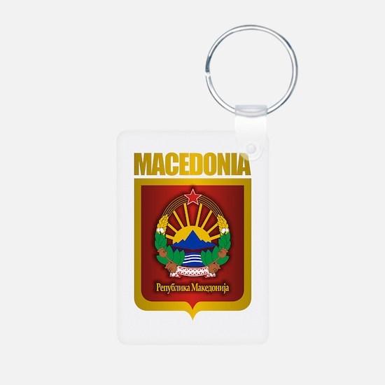 """Macedonian Gold"" Keychains"