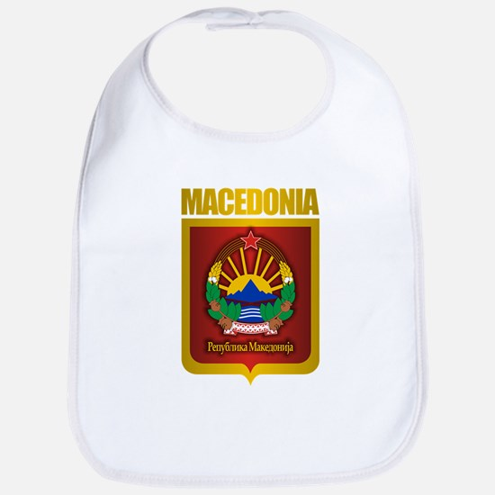 """Macedonian Gold"" Bib"