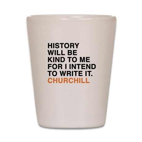 Churchill Shot Glass