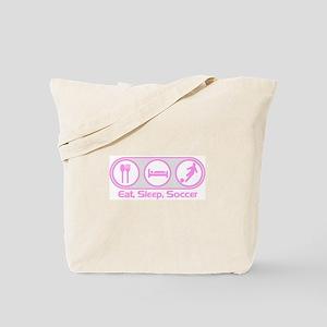 Eat Sleep Soccer 7 Tote Bag