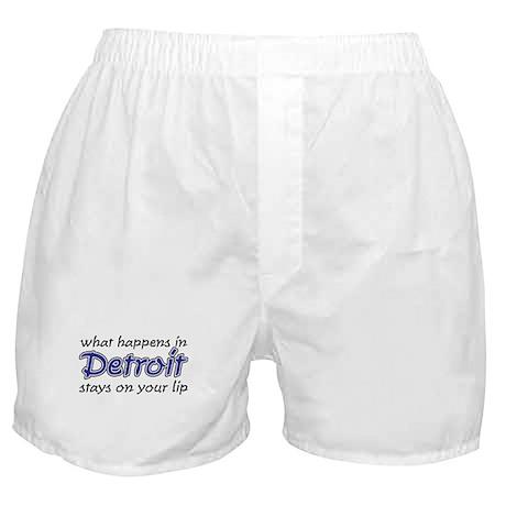 What happens in Detroit Boxer Shorts