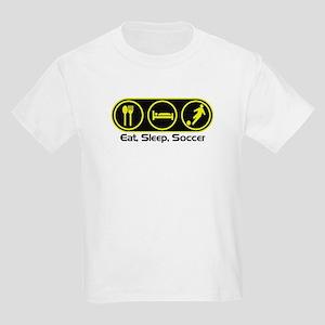 Eat Sleep Soccer 4 Kids T-Shirt