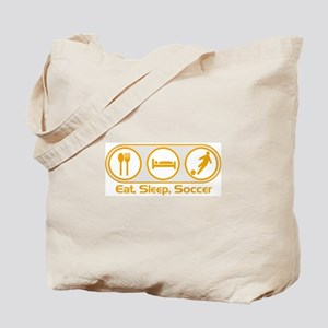 Eat Sleep Soccer 3 Tote Bag