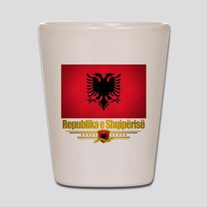 """Albanian Pride"" Shot Glass"