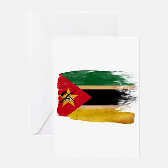 Mozambique Flag Greeting Card
