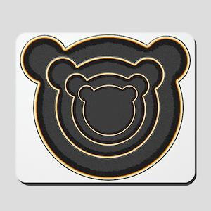 Bear Head Mousepad