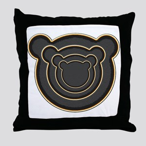Bear Head Throw Pillow