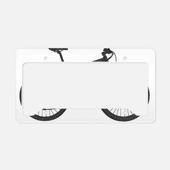 Cool Mountain bikers License Plate Holder