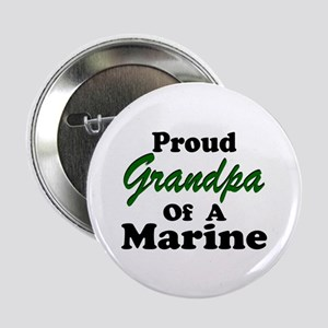 Proud Grandpa of a Marine Button