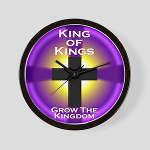 Grow The Kingdom Wall Clock