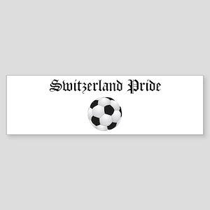 Switzerland Pride Bumper Sticker
