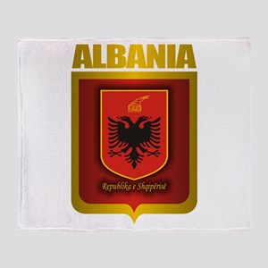 """Albanian Gold"" Throw Blanket"
