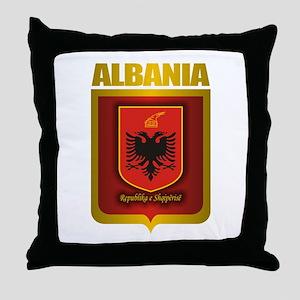 """""""Albanian Gold"""" Throw Pillow"""