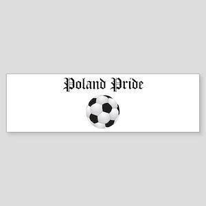Poland Pride Bumper Sticker