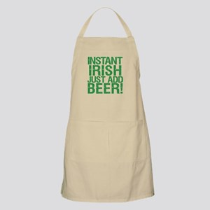 Instant Irish Just add Beer Apron