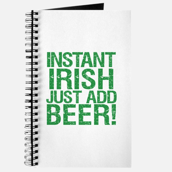 Instant Irish Just add Beer Journal