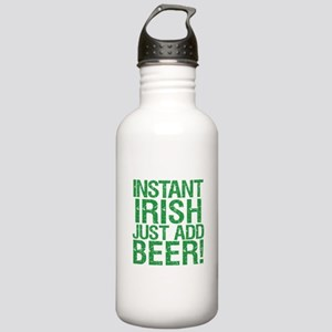Instant Irish Just add Beer Stainless Water Bottle