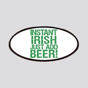 Instant Irish Just add Beer Patches