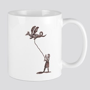 Dragon Kite for Men Mug