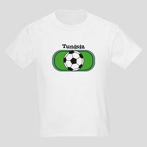 Tunisia Soccer Field Kids T-Shirt