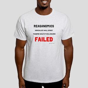 Reaganomics Failed Light T-Shirt