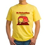 Valentine PeRoPuuu Yellow T-Shirt
