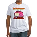 Valentine PeRoPuuu Fitted T-Shirt