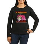 Valentine PeRoPuuu Women's Long Sleeve Dark T-Shir
