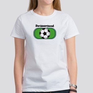 Switzerland Soccer Field Women's T-Shirt