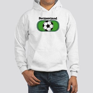 Switzerland Soccer Field Hooded Sweatshirt