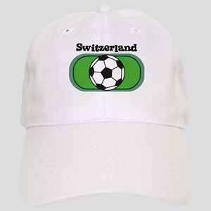 Switzerland Soccer Field Cap