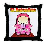 Valentine PeRoPuuu 2 Throw Pillow