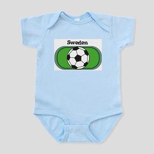 Sweden Soccer Field Infant Creeper