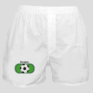 Sweden Soccer Field Boxer Shorts
