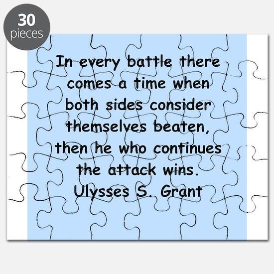 ulysses s. grant Puzzle