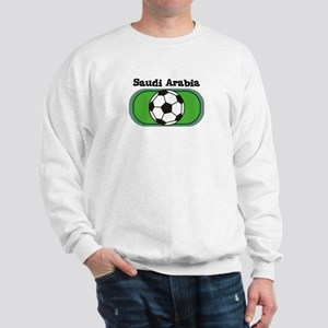 Saudi Arabia Soccer Field Sweatshirt