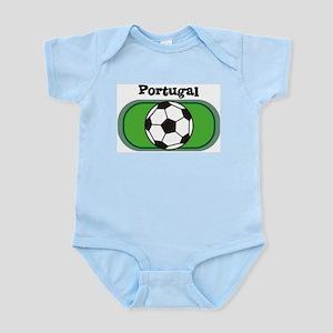 Portugal Soccer Field Infant Creeper