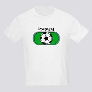 Portugal Soccer Field Kids T-Shirt
