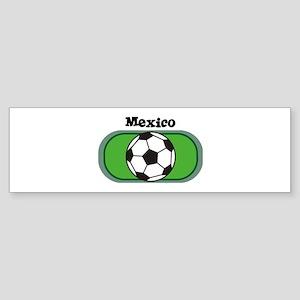 Mexico Soccer Field Bumper Sticker