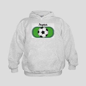 Japan Soccer Field Kids Hoodie