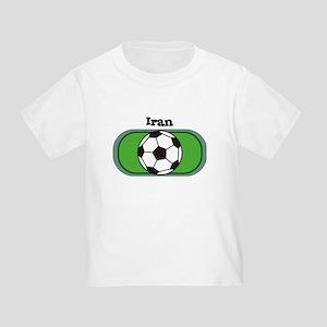 Iran Soccer Field Toddler T-Shirt