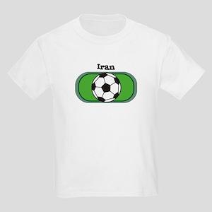 Iran Soccer Field Kids T-Shirt