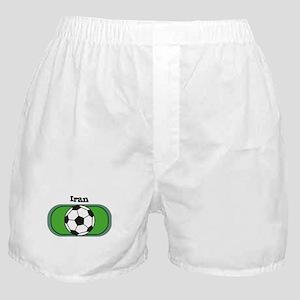 Iran Soccer Field Boxer Shorts