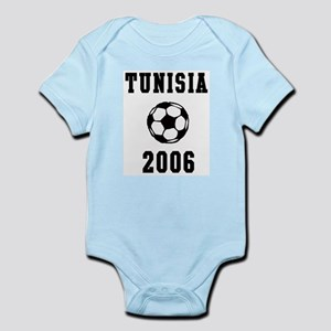 Tunisia Soccer 2006 Infant Creeper