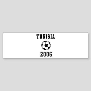 Tunisia Soccer 2006 Bumper Sticker