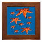 Starfish Framed Tile
