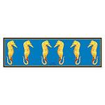 Seahorse Sticker (Bumper)