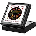 Respect All Life Keepsake Box